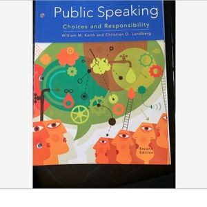 Public Speaking Choices & ResponsibilityLooseleaf